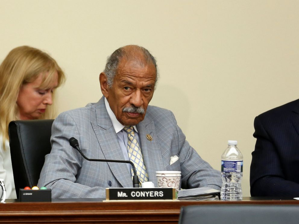 PHOTO: U.S. Representative John Conyers (D-MI) participates in a House Judiciary Committee hearing on Capitol Hill in Washington, July 12, 2016.