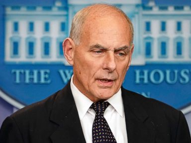 Trump's chief of staff offers emotional take on call to slain soldier's widow