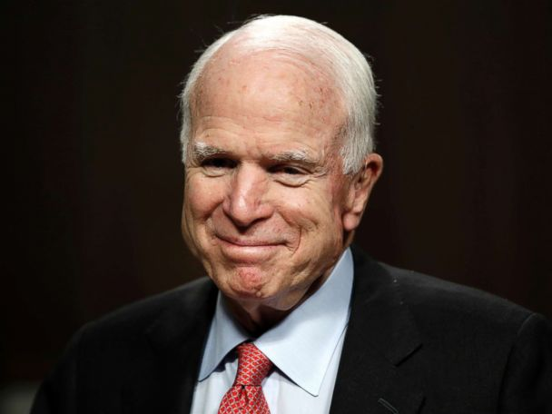 McCain receiving treatment for side effects of cancer therapy