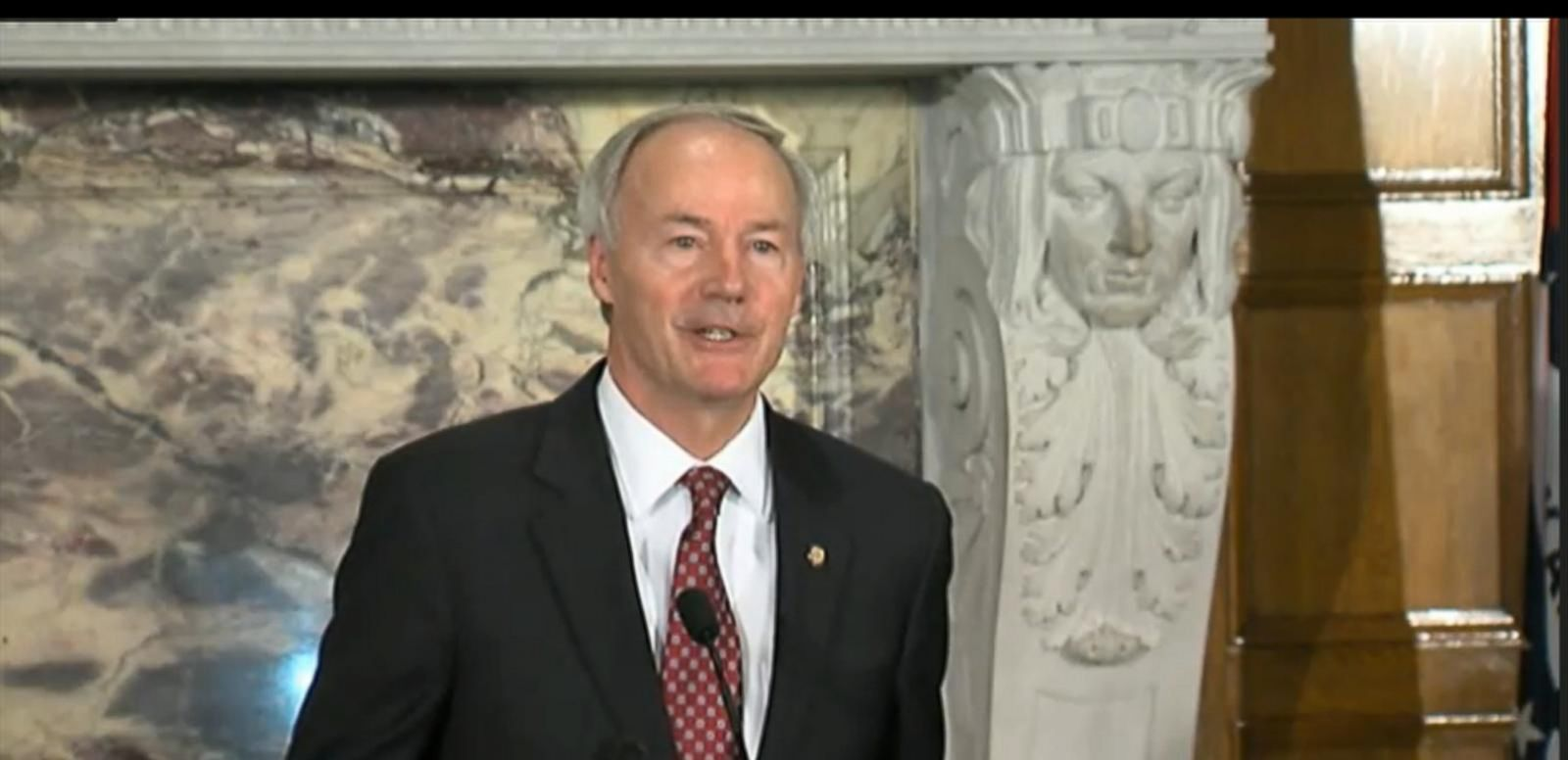 VIDEO: Gov. Asa Hutchinson, R-Arkansas, asked the state legislature to alter the religious freedom bill to more closely mirror the federal law before he will sign it.