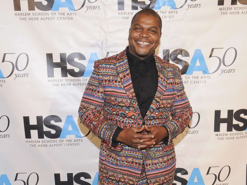 PHOTO: Artist Kehinde Wiley attends the Harlem School of the Arts (HSA) 50th Year Anniversary Gala Kickoff in the Grand Ballroom at The Plaza, Oct. 5, 2015, in New York City.