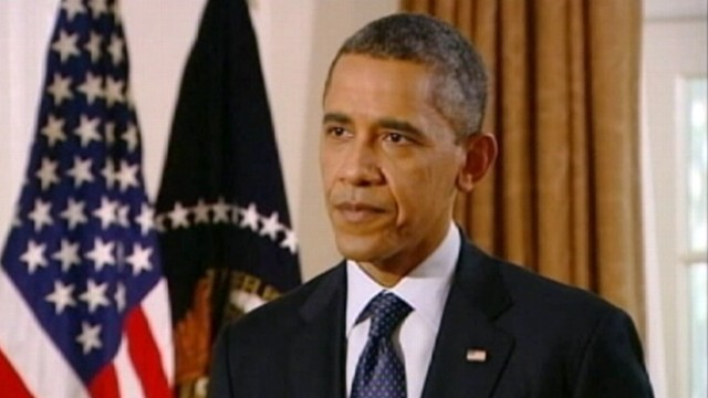 VIDEO: President Obama discusses crude oil pipeline set to go through Nebraska.