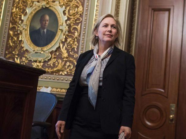 Sen. Gillibrand says Trump used sexual innuendo to stifle her voice
