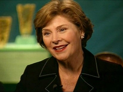 Laura Bush talks to ABC News Jonathan Karl about life post-presidency