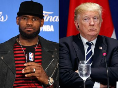 LeBron James bashes Trump for disinviting Steph Curry