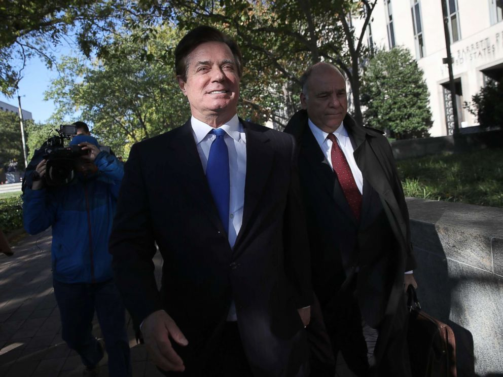 Manafort and Gates Win Freedom for Thanksgiving But They Can't Drink