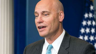 'PHOTO: Marc Short, Director of Legislative Affairs, speaks to reporters outside the West Wing of the White House in Washington, D.C., Jan. 19, 2018.' from the web at 'http://a.abcnews.com/images/Politics/marc-short-3-epa-jt-180120_16x9t_384.jpg'