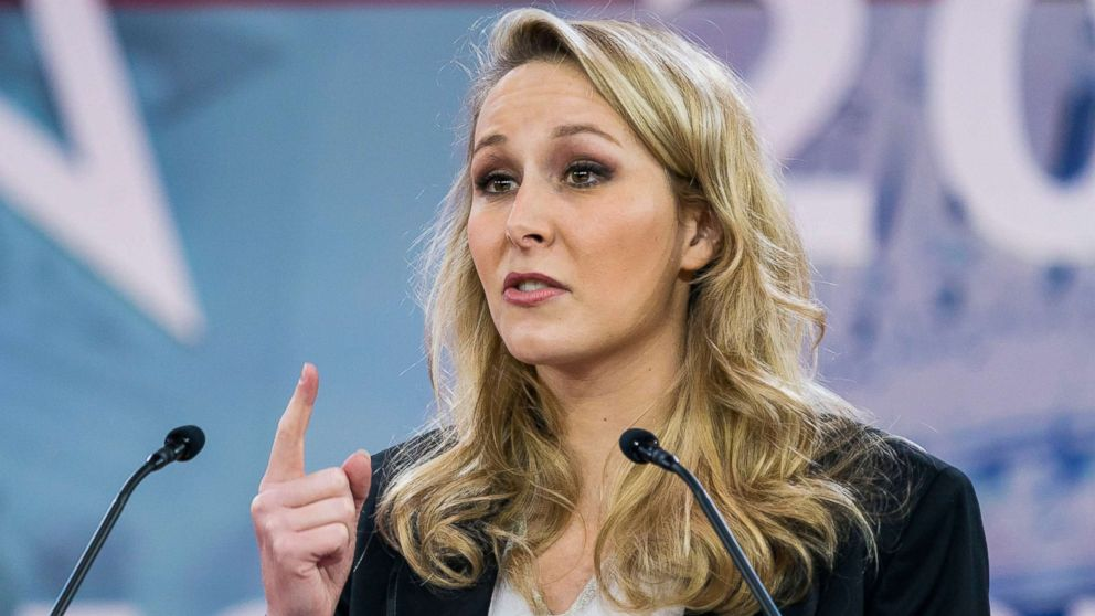 Star of France's  political right serves red meat to US conservative conference