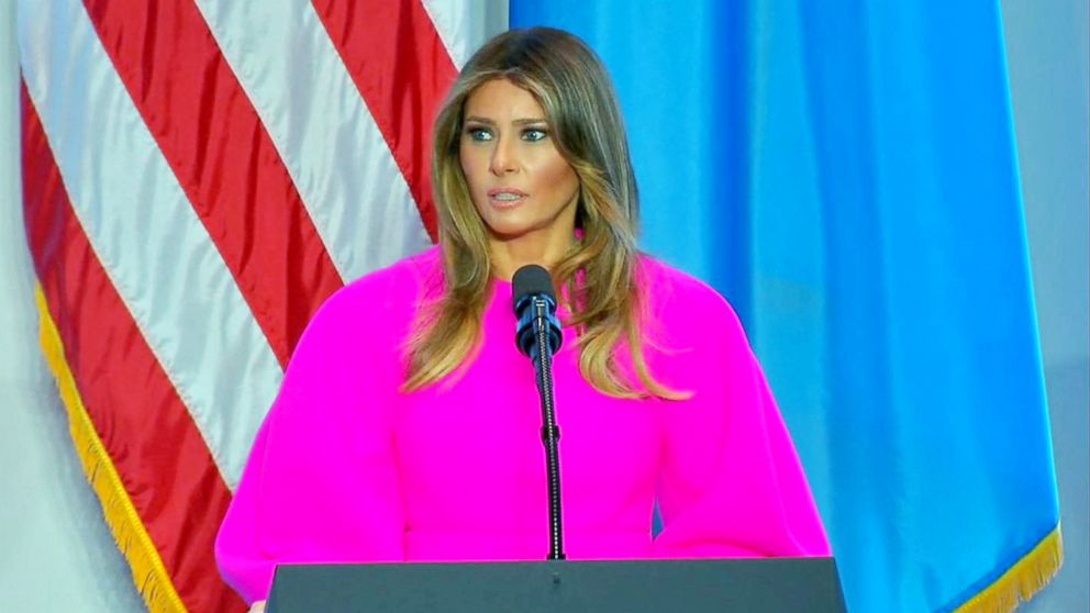 Melania Trump to host cyberbullying roundtable with tech execs at White  House