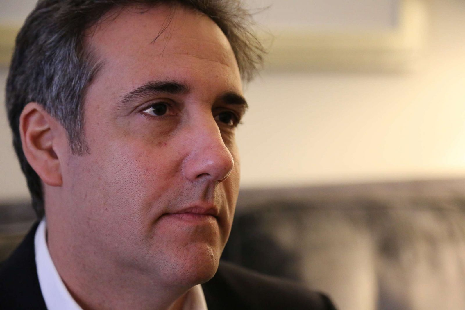 Michael Cohen says family and country, not President Trump, is his 'first loyalty'