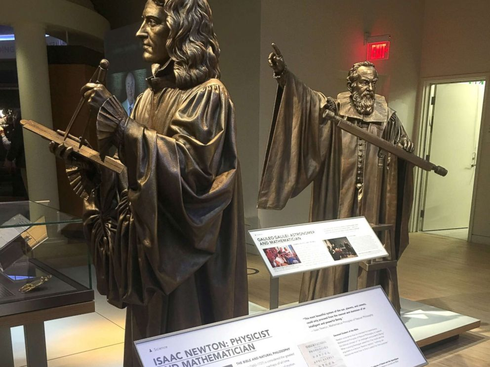 PHOTO: An exhibit of Isaac Newton in the Bible in America, in Washington.