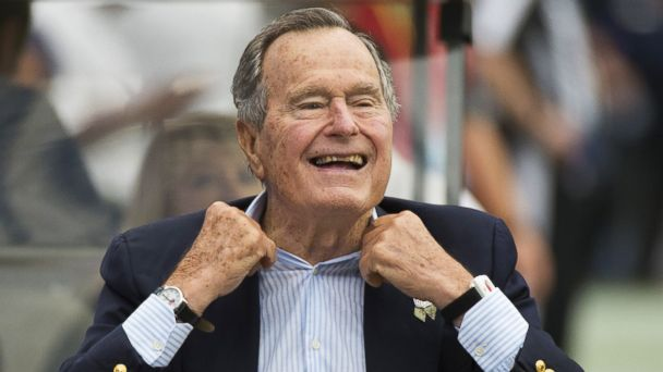 nc george hw bush ll 131210 16x9 608 George H.W. Bush Joins Twitter With Mandela Tribute