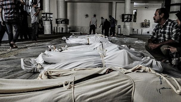 nc syria chemical weapons bodies ll 130822 16x9 608 U.S. Intelligence Still Trying to Nail Down the Facts On Reports Of Syrian Chemical Weapons Use