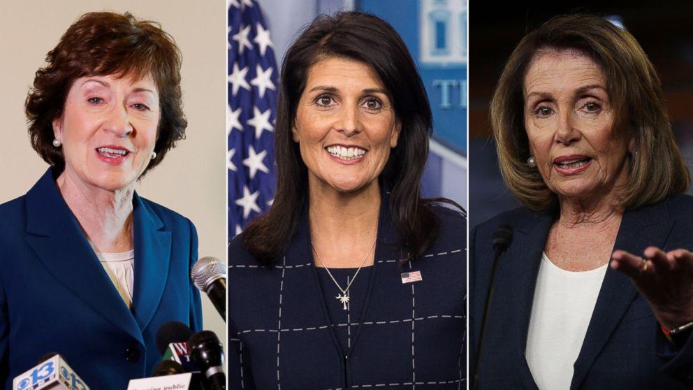 'This Week' Transcript 10-15-17: Nikki Haley, Nancy Pelosi, and Susan Collins