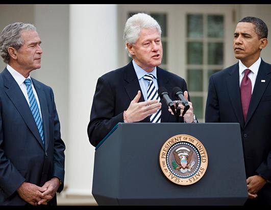 Former President Bill Clinton Through the Years