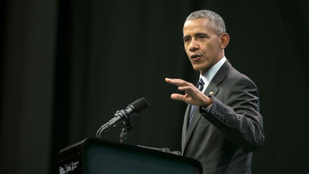 Obama  slams state of US politics in 1st post-presidency campaign stops, calls for rejection of Charlottesville hate