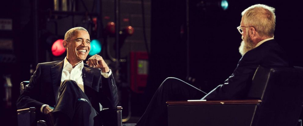"""PHOTO: Barack Obama on the Netflix series """"My Next Guest Needs No Introduction with David Letterman"""""""