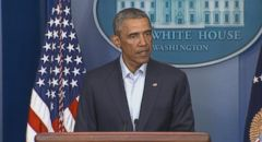 VIDEO: President Obama discusses comments had with Missouri governor, Jay Nixon.