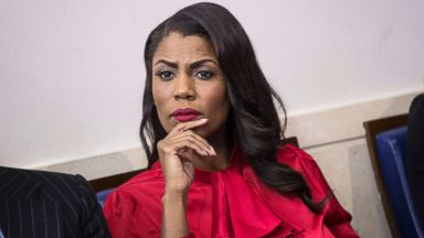 'PHOTO: Omarosa Manigault listens during the daily press briefing1_b@b_1the White House in this Oct. 27, 2017 file photo in Washington.' from the web at 'http://a.abcnews.com/images/Politics/omarosa-manigault-gty-ml-171213_16x9t_384.jpg'