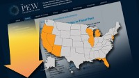 Top Ten States in Fiscal Peril