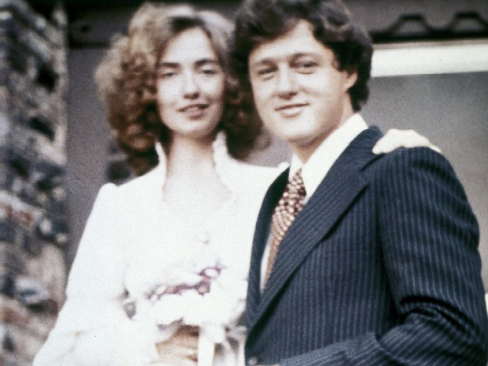 clintons when young, she was stoned I'd say                 from the eyes