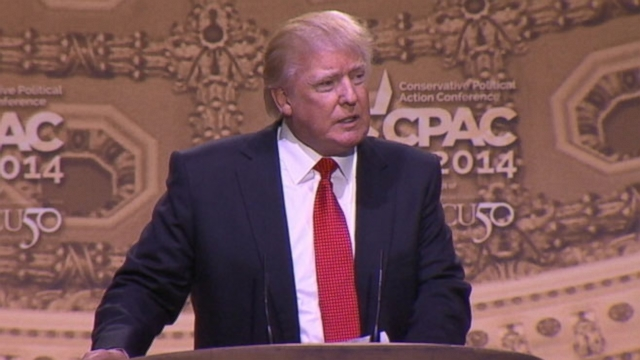 "Real Estate mogul referred to the former president as the ""late, great Jimmy Carter"" in his CPAC speech."