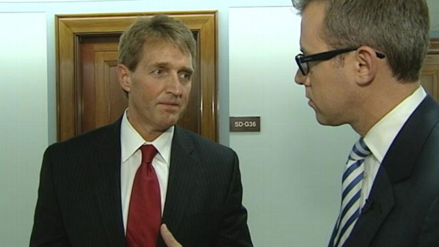VIDEO: Arizona Republican talked to Jeff Zeleny after April vote against gun control in Senate.