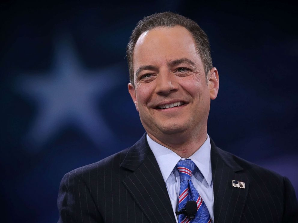 PHOTO: Reince Priebus participates in a discussion on March 4, 2016, in National Harbor, Md.