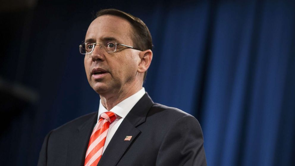 Embattled Deputy Attorney General Rosenstein to argue case before the Supreme Court