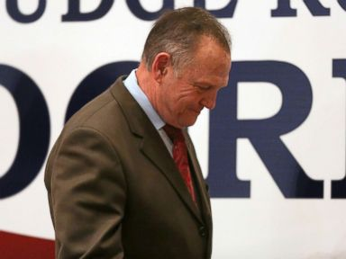 Moore tells supporters 'battle is not over' in Senate race