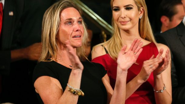 PHOTO: Carryn Owens, widow of Senior Chief Petty Officer William