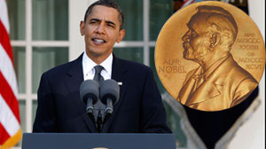 Obama Accepts Nobel Peace As a Call for Action