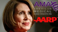 The AARP and AMA expected to endorse Nancy Pelosi?s health care plan