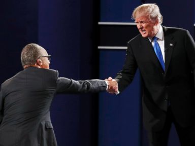 Trump and Surrogates Heap Blame on Debate Moderator's Line of Questioning