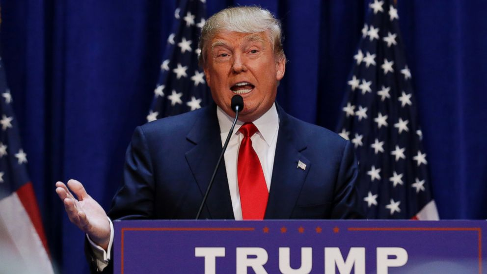 Donald Trump Announces 2016 Presidential Campaign: 'We Are Going Make ...