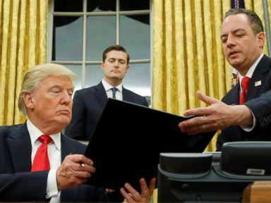 President Trump Signs Executive Order 'Minimizing the Economic Burden' of Obamacare
