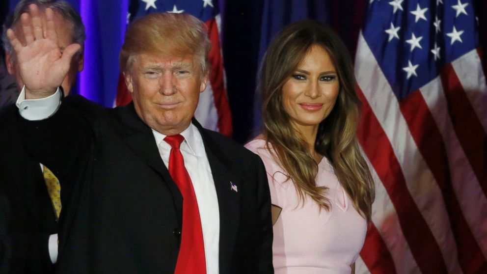 Image result for donald and melania trump