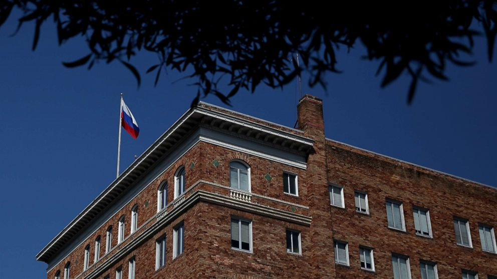 US forces closure of Russia's San Francisco consulate, 2 other diplomatic properties