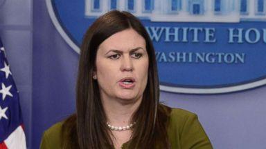 Sarah Huckabee Sanders named press secretary after Sean Spicer resignation