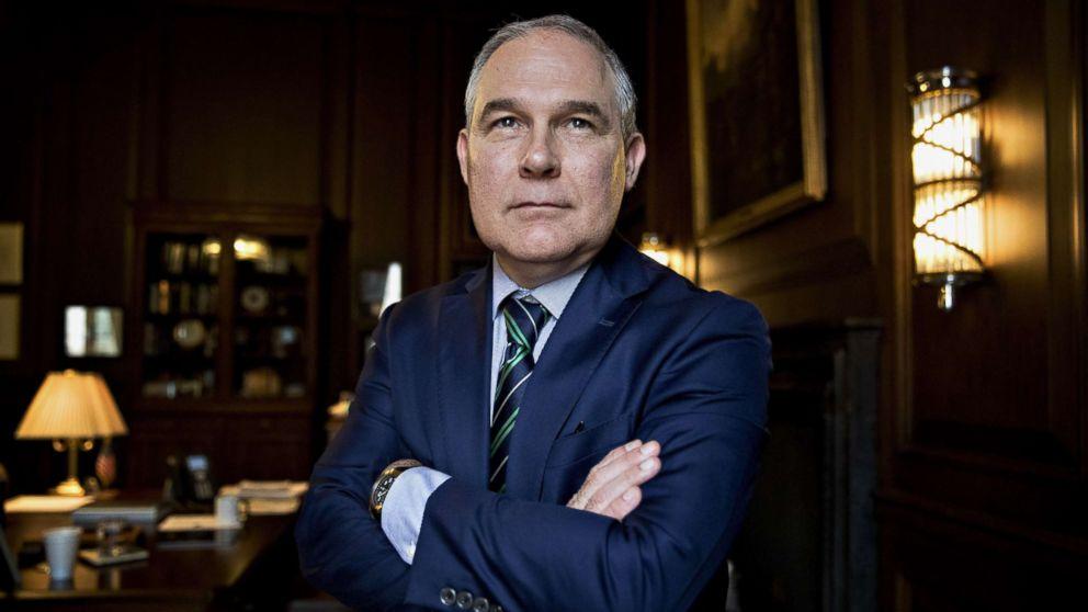 EPA  internal watchdog finds Pruitt's top aide approved controversial raises
