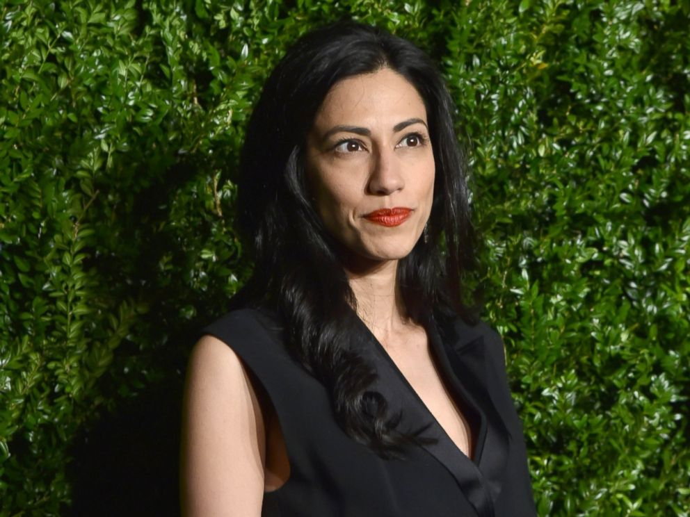 PHOTO: Huma Abedin attends the 12th Annual Tribeca Film Festival Artists Dinner hosted by Chanel, in New York, April 24, 2017.