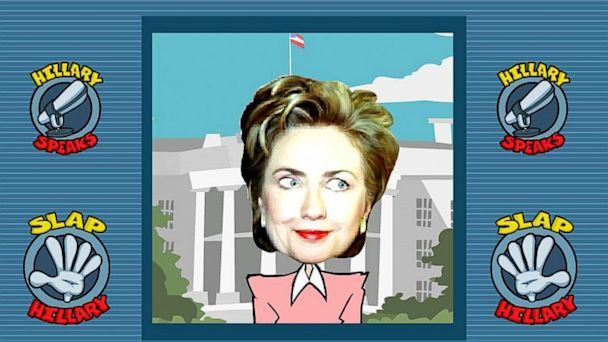 slap hillary 16x9 608 Republican Party Joins Dems in Condemning Slap Hillary Game