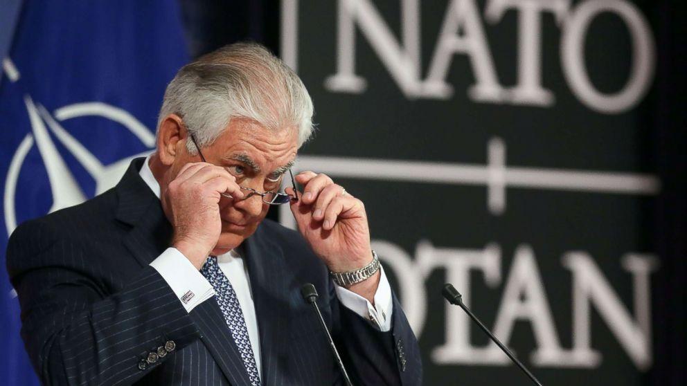Tillerson faces pushback in Europe on Jerusalem