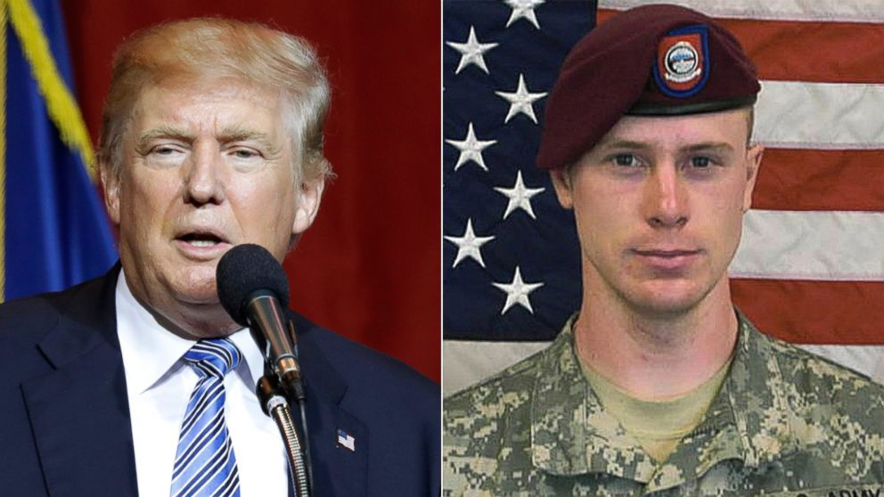 Donald Trump has condemned Bowe Bergdahl and his Taliban release from the beginning