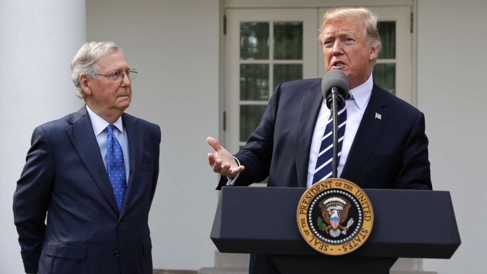 The Note: Fake news or real, the Trump-McConnell bromance was on display