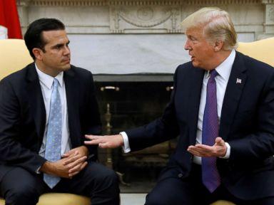 Trump gives Puerto Rico response a '10,' calls storm 'worse than Katrina'
