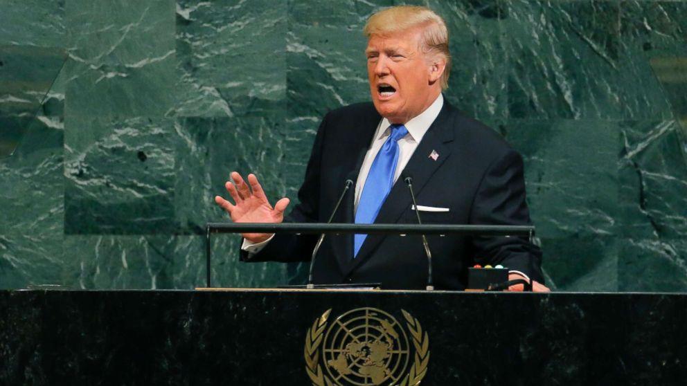 Reactions to Trump's UN speech split along party lines