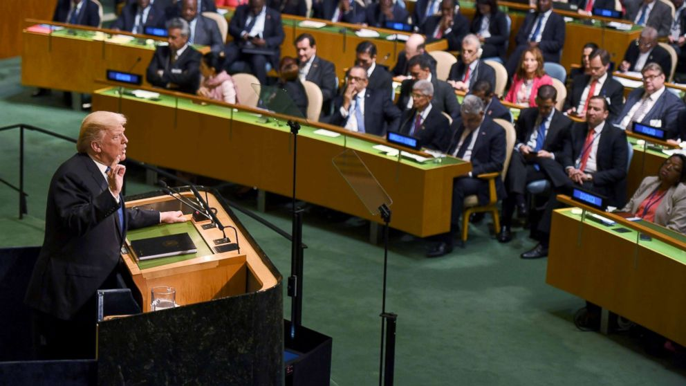 ANALYSIS: Trump launches rhetorical rockets at United Nations