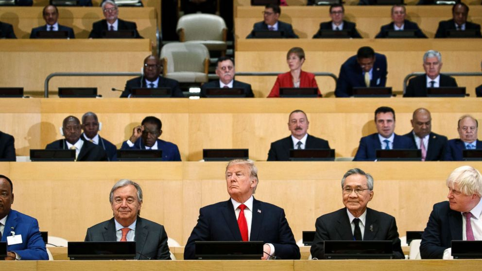 Trump to call out 'shared menace' of Iran, North Korea in UNGA address