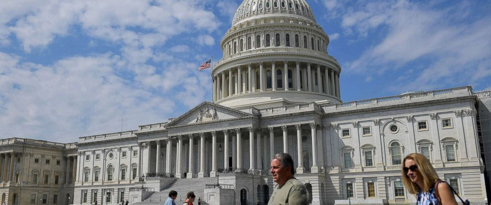 PHOTO: The US Capitol is seen on Aug. 24, 2017 in Washington, DC.